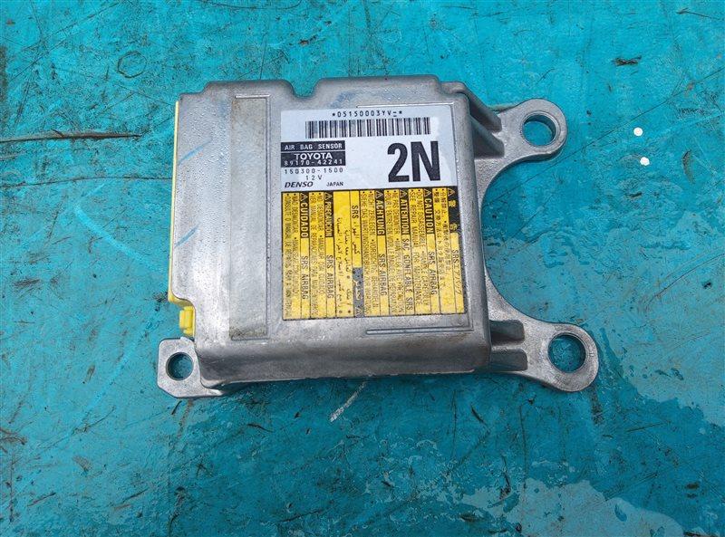 Блок управления airbag Toyota Vanguard GSA33 2GR-FE 09.2007 (б/у)