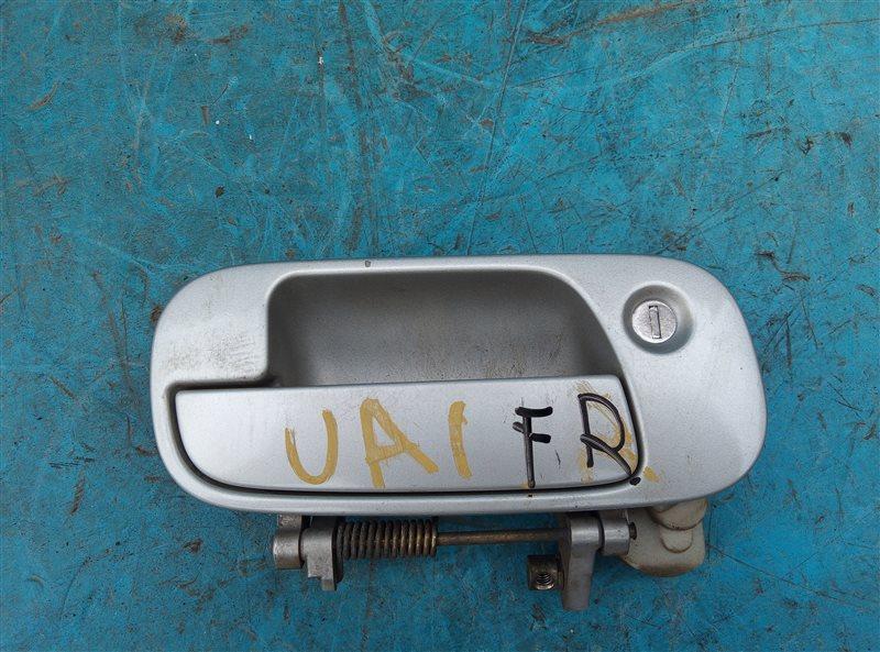 Ручка двери внешняя Honda Inspire UA1 G20A передняя правая (б/у)