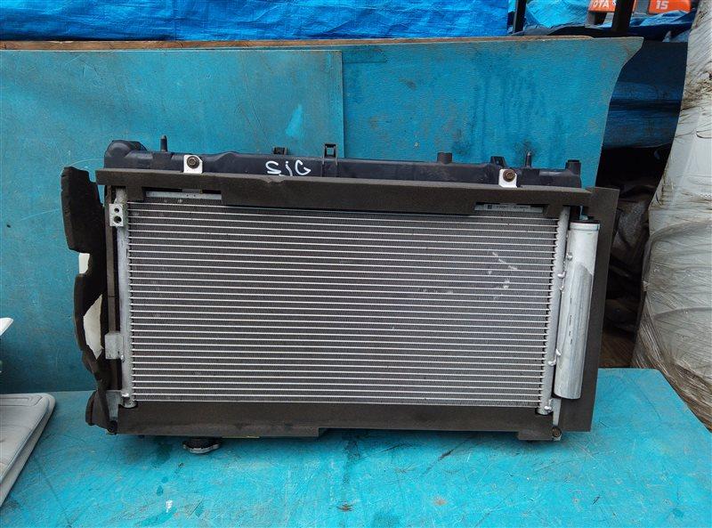 Радиатор основной Subaru Forester SJG FA20 02.2014 (б/у)