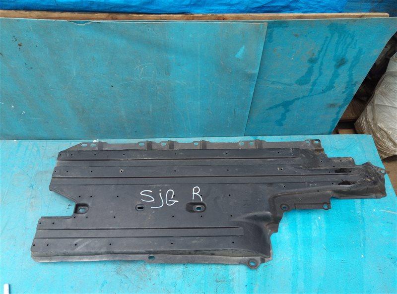 Защита Subaru Forester SJG FA20 02.2014 правая нижняя (б/у)