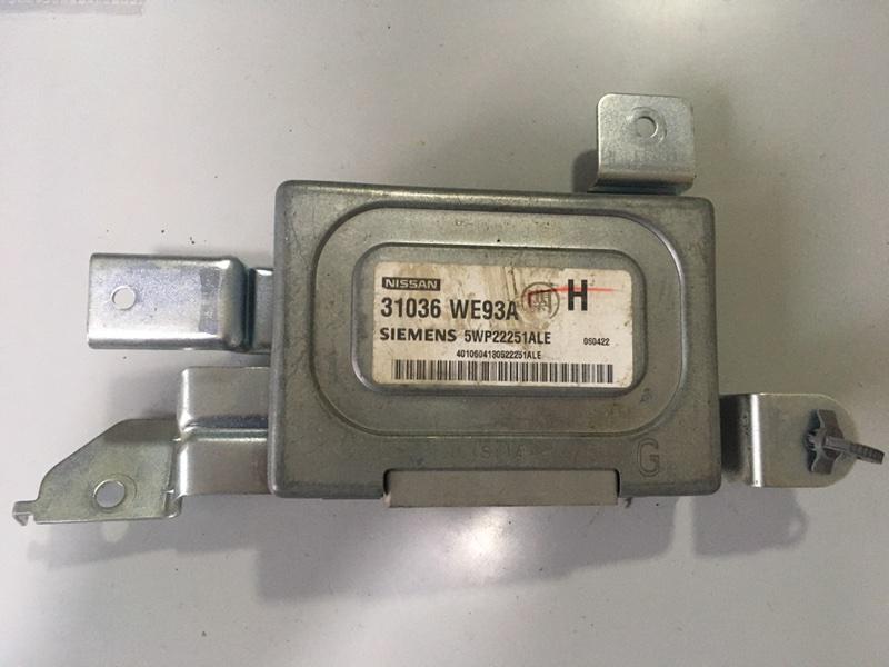 Блок переключения кпп Nissan Ad VHNY11 QG18DE (б/у)