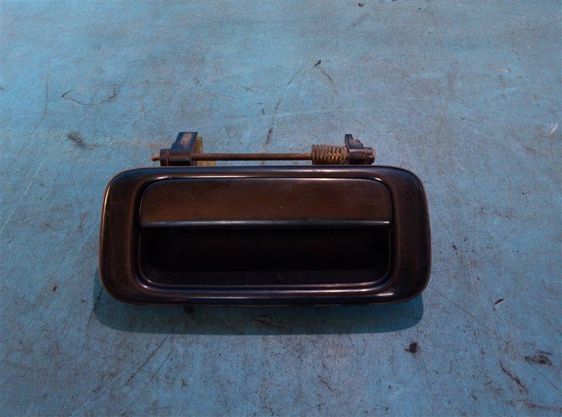 Ручка двери внешняя Toyota Land Cruiser HDJ81 1HD-T 12.1992 задняя правая (б/у)