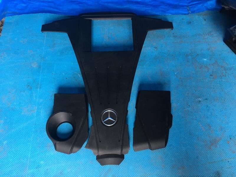 Декоративная крышка двс Mercedes S 500 Long W222 278.929 11.2013 (б/у)