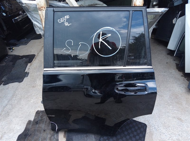 Дверь Toyota Land Cruiser Prado GDJ150 1GD-FTV 05.2019 задняя левая (б/у)