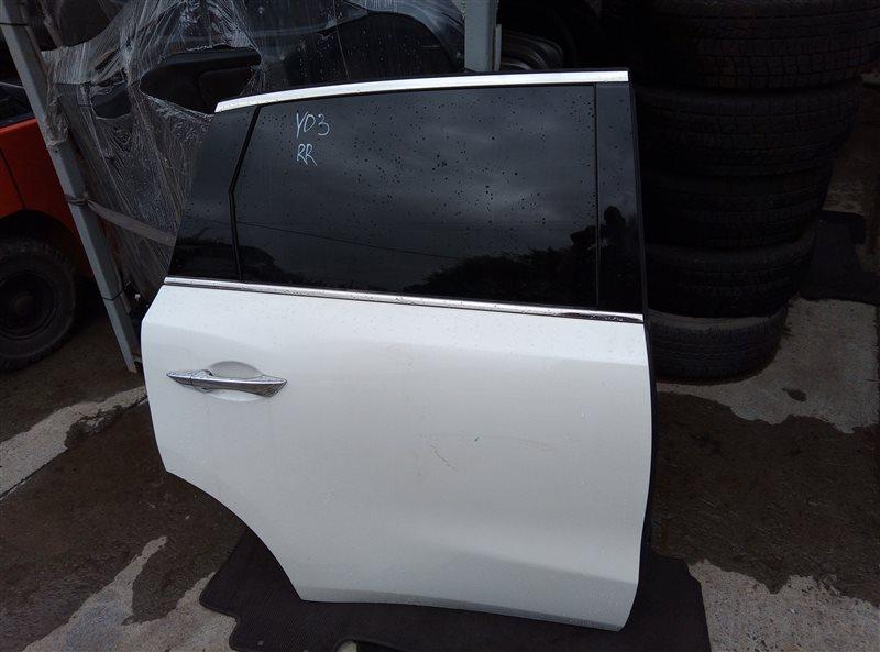 Дверь Acura Mdx YD3 J35Y5 01.2019 задняя правая (б/у)