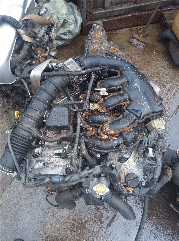 Двигатель Toyota Mark X GRX125 4GRFSE 0077233 (б/у)