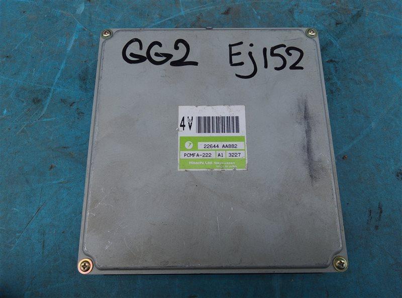 Блок efi Subaru Impreza GG2 EJ152 (б/у)