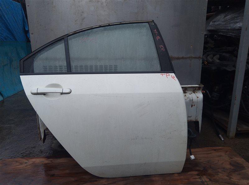 Дверь Nissan Primera TP12 QR20DE задняя правая (б/у)