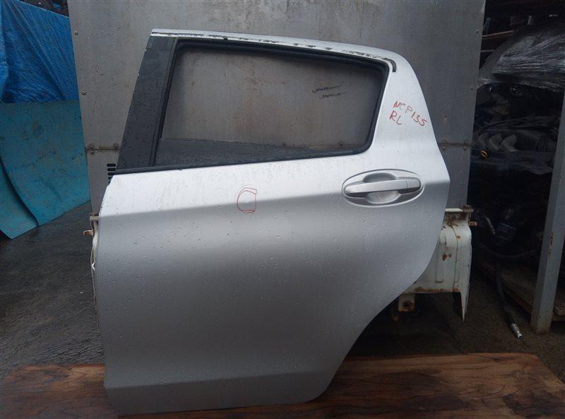 Дверь Toyota Vitz NSP135 1NR-FE задняя левая (б/у)