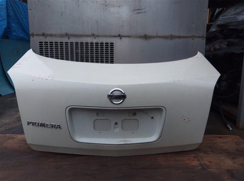 Крышка багажника Nissan Primera TP12 QR20DE (б/у)