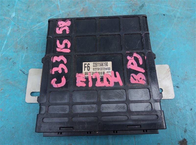 Блок efi Subaru Legacy BP5 EJ204 (б/у)
