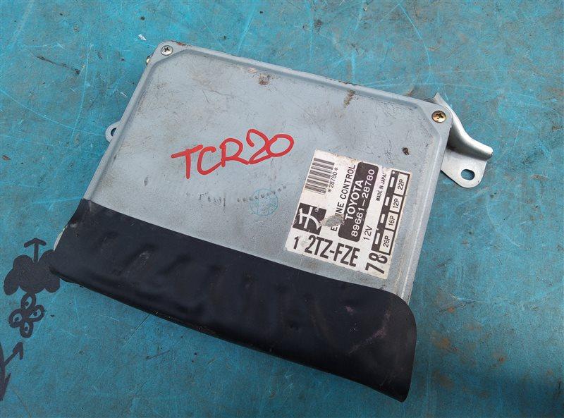 Блок efi Toyota Estima TCR20 2TZ-FZE (б/у)
