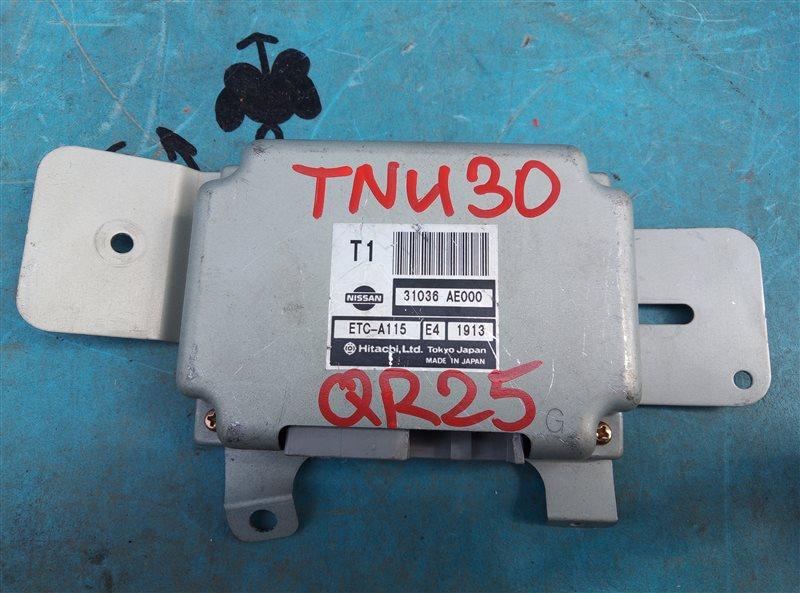 Блок переключения кпп Nissan Presage TNU30 QR25DE (б/у)