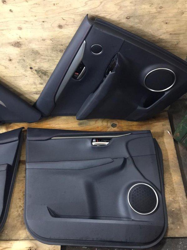 Обшивка дверей Lexus Nx300H AYZ10 2AR-FXE 11.2017 задняя левая (б/у)