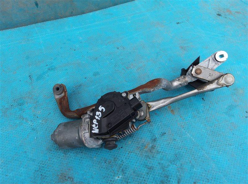 Мотор дворников Toyota Vitz NSP135 1NR-FE передний (б/у)
