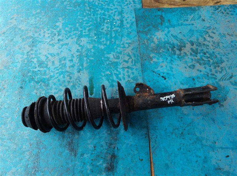 Стойка Toyota Vitz NSP135 1NR-FE передняя правая (б/у)