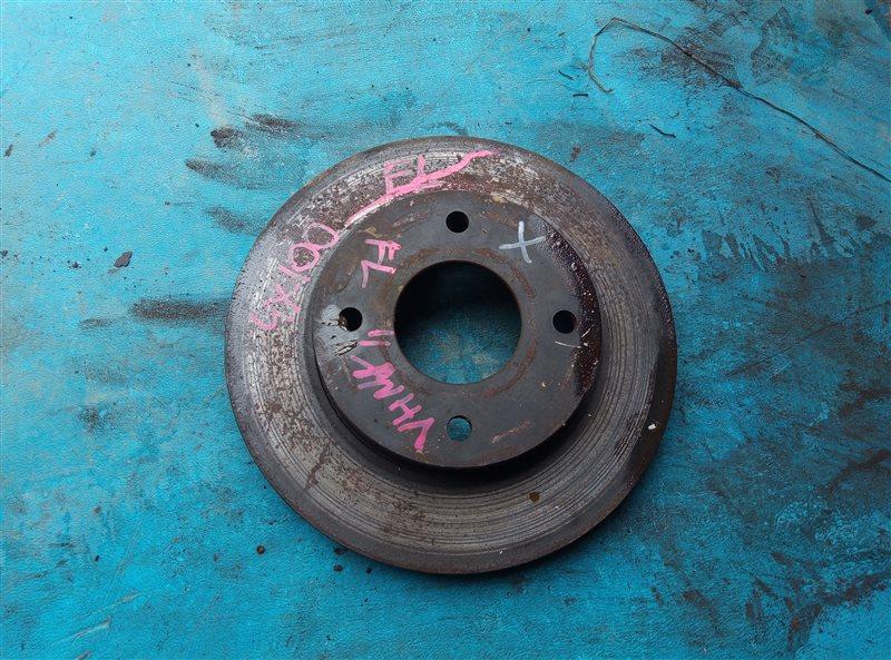 Тормозной диск Nissan Ad VHNY11 QG18DE передний левый (б/у)
