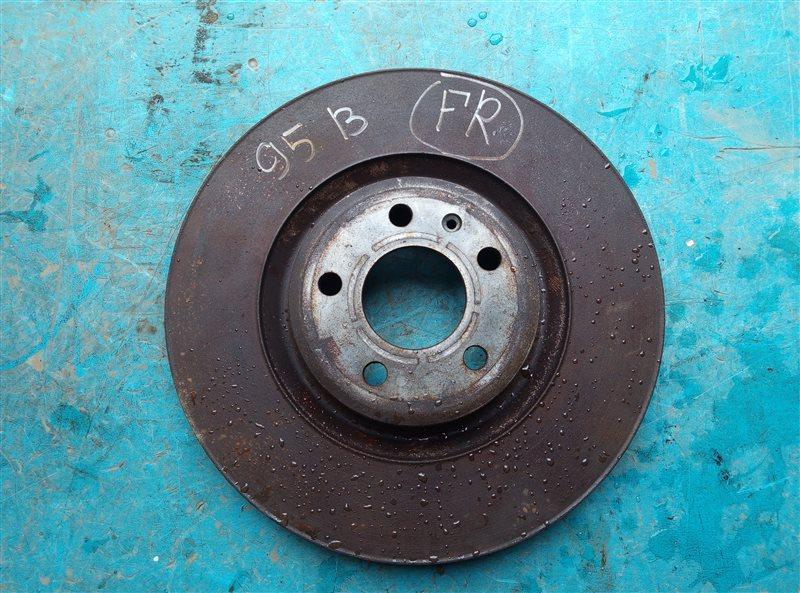 Тормозной диск Porsche Macan 95B CNCC 10.2014 передний правый (б/у)