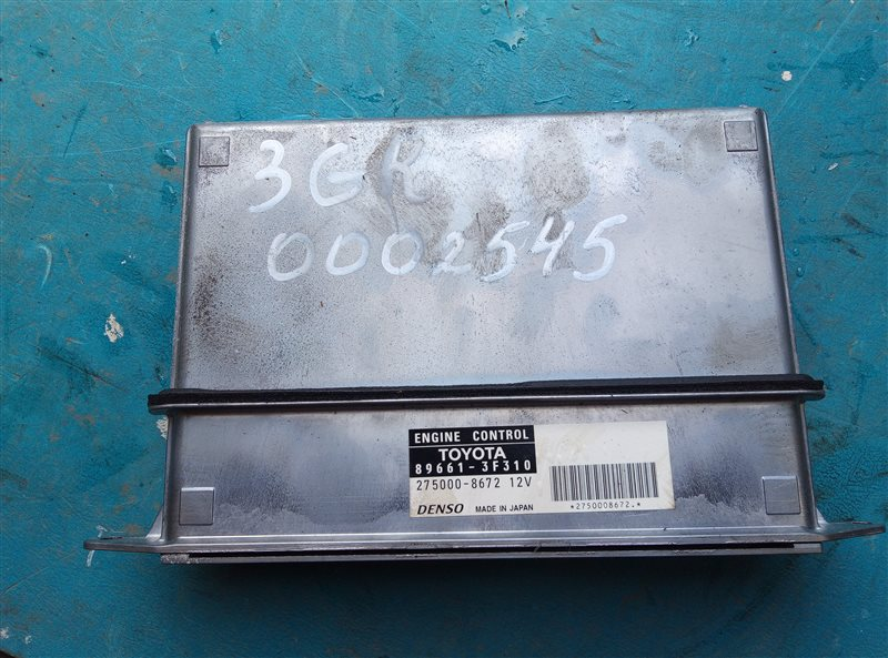 Блок efi Toyota Crown GRS183 3GR-FSE (б/у)