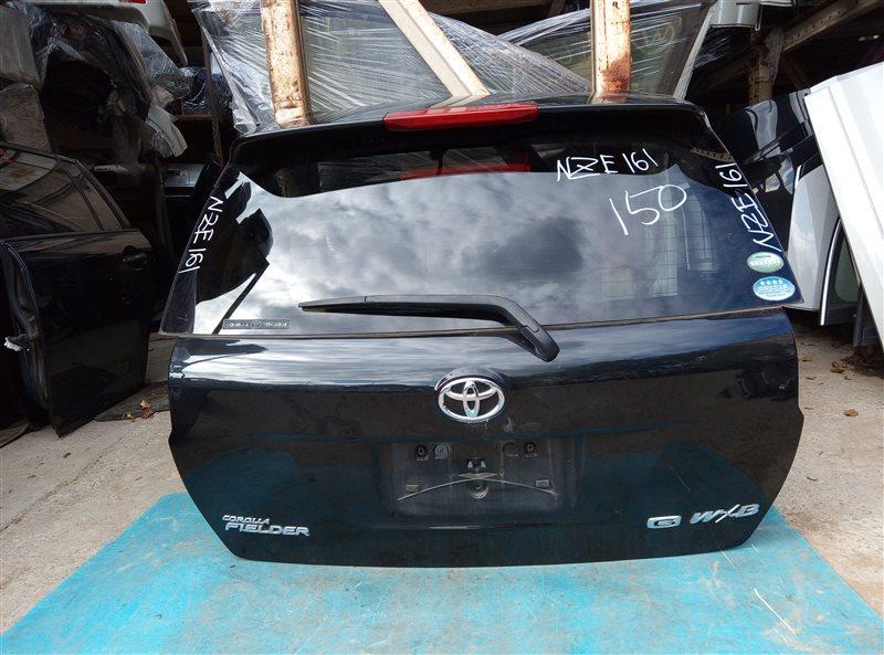 Дверь 5-я Toyota Corolla Fielder NZE161 1NZ-FE 06.2014 (б/у)
