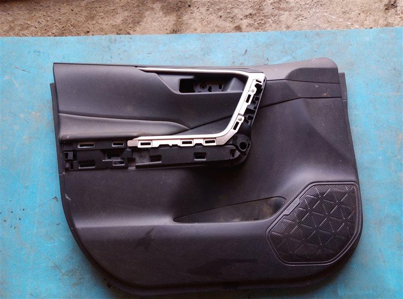 Обшивка дверей Toyota Rav4 AXAH52 A25A-FXS R198185 2019 передняя левая (б/у)