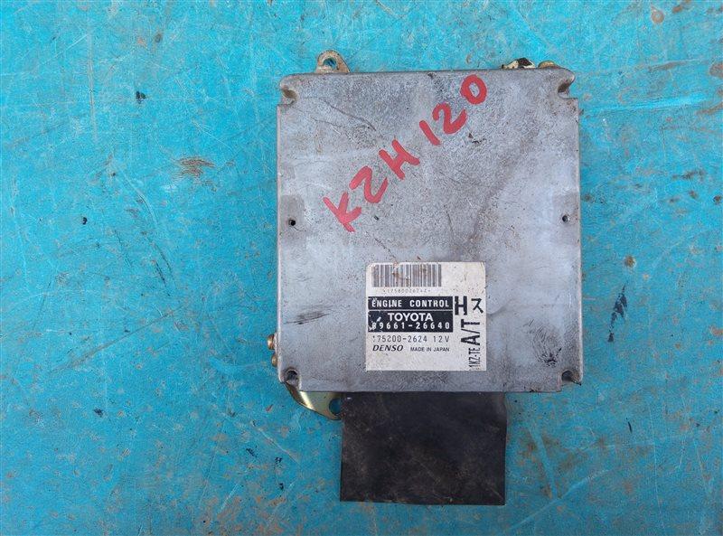 Блок efi Toyota Hiace KZH120 1KZ-TE (б/у)