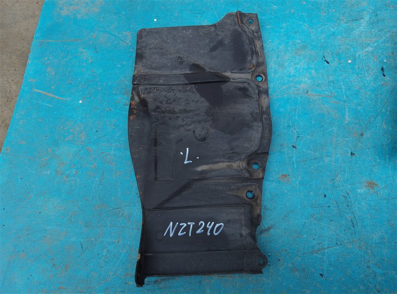 Защита двигателя Toyota Allion NZT240 1NZ-FE левая (б/у)