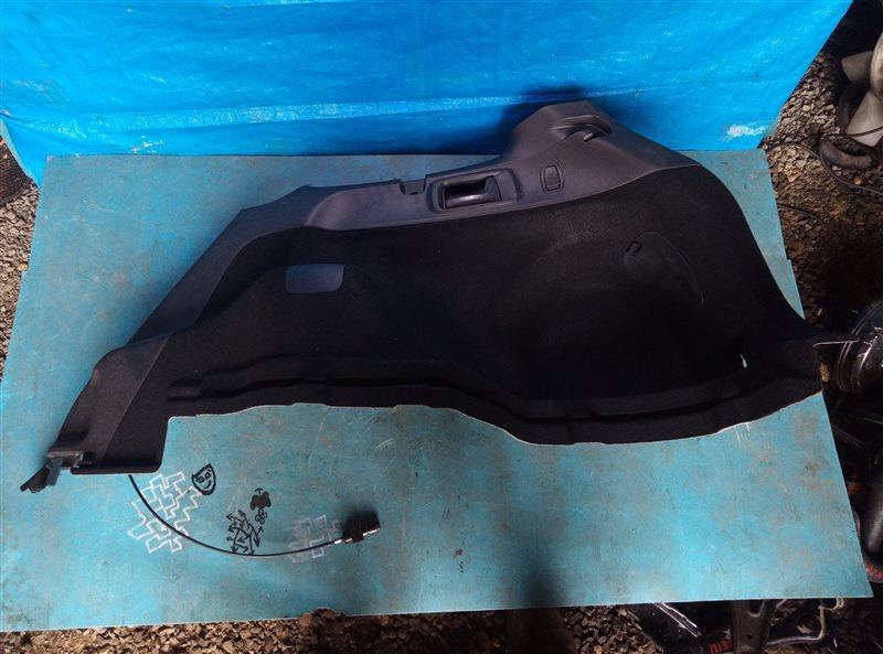 Обшивка багажника Toyota Corolla Fielder NZE161 1NZ-FE 06.2014 задняя правая (б/у)