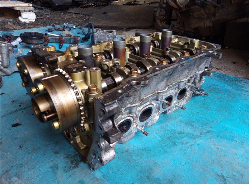Головка блока цилиндров Toyota Vitz NSP135 1NR-FE (б/у)