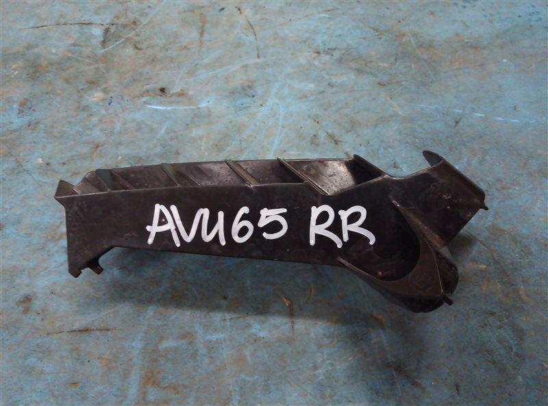 Крепление бампера Toyota Harrier AVU65 2AR-FXE 05.2015 заднее правое (б/у)