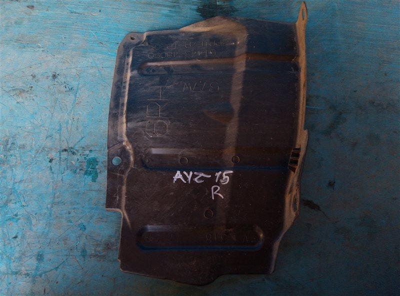 Защита двигателя Lexus Nx300H AYZ15 2AR-FXE 02.2017 правая (б/у)