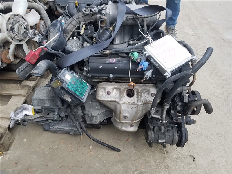 Двигатель Honda Stepwgn RF1 B20B 3489685 (б/у)