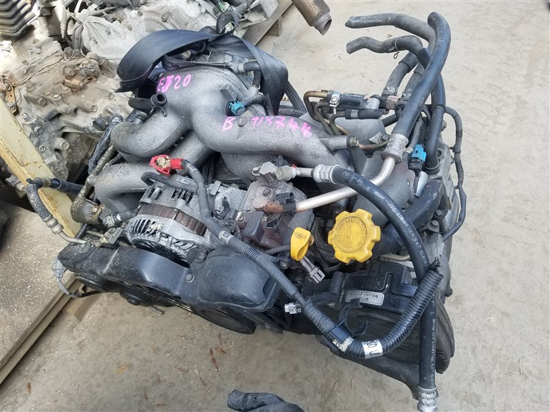 Двигатель Subaru Legacy BP5 EJ204 B918744 (б/у)
