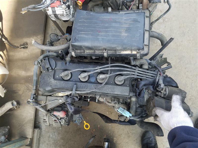Двигатель Nissan Cube AZ10 CGA3DE 154131 (б/у)