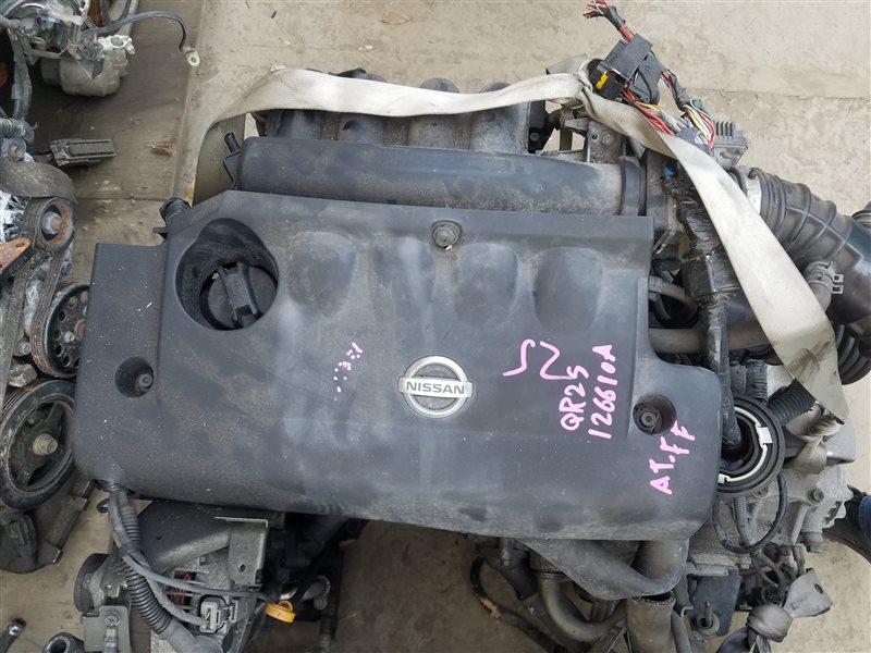 Двигатель Nissan Presage TU31 QR25DE 126610A (б/у)