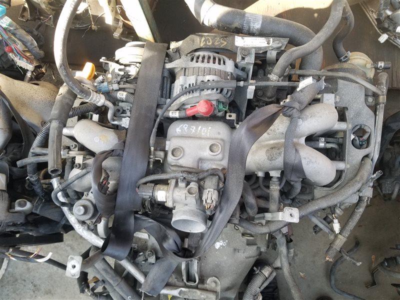 Двигатель Subaru Legacy BE9 EJ254 B687101 (б/у)