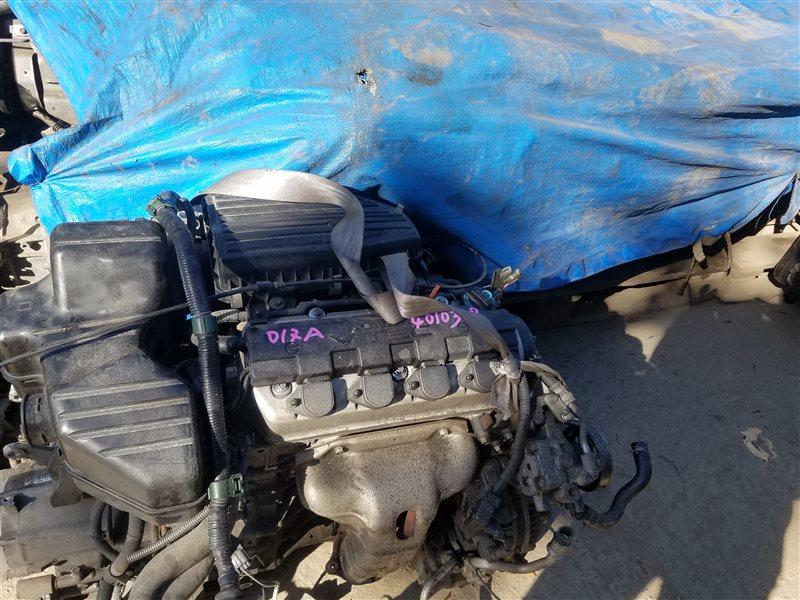 Двигатель Honda Edix BE1 D17A 4010308 (б/у)