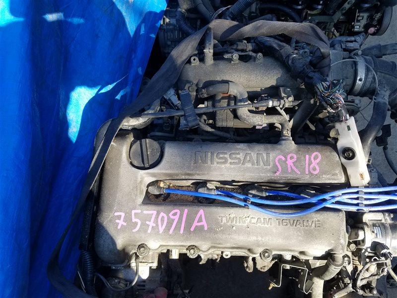 Двигатель Nissan Primera P11 SR18DE 757091A (б/у)