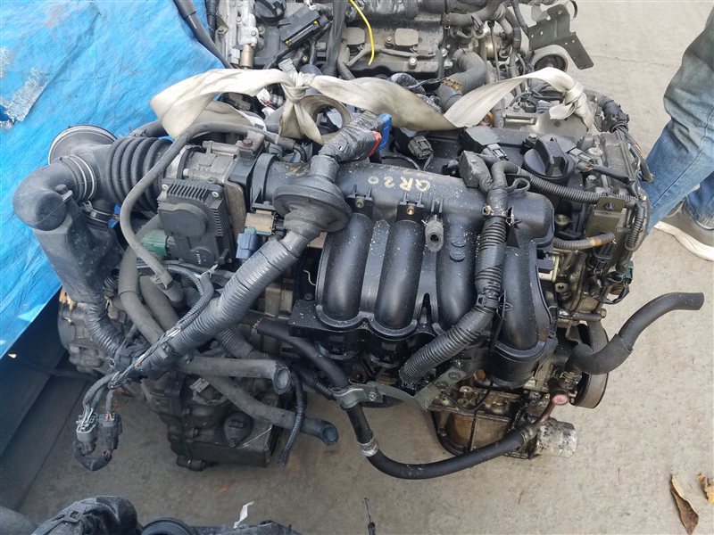 Двигатель Nissan Primera TP12 QR20DE 622304A (б/у)