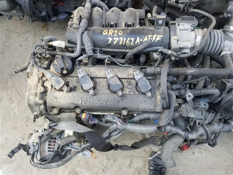 Двигатель Nissan Primera TP12 QR20DE 372162A (б/у)