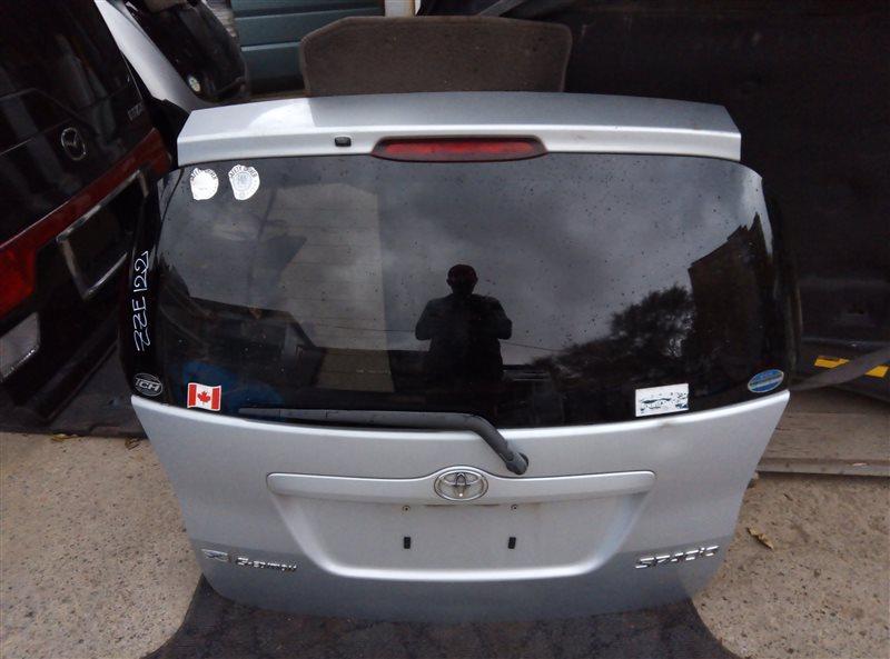 Дверь 5-я Toyota Corolla Spacio ZZE122 (б/у)