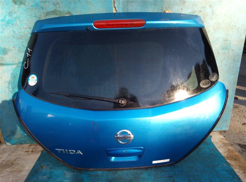 Дверь 5-я Nissan Tiida C11 HR15DE (б/у)