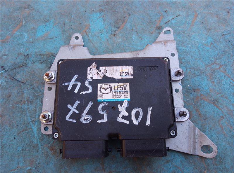 Блок efi Mazda Atenza GHEFW LF-VE (б/у)