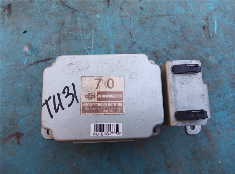 Блок переключения кпп Nissan Presage TU31 QR25DE (б/у)