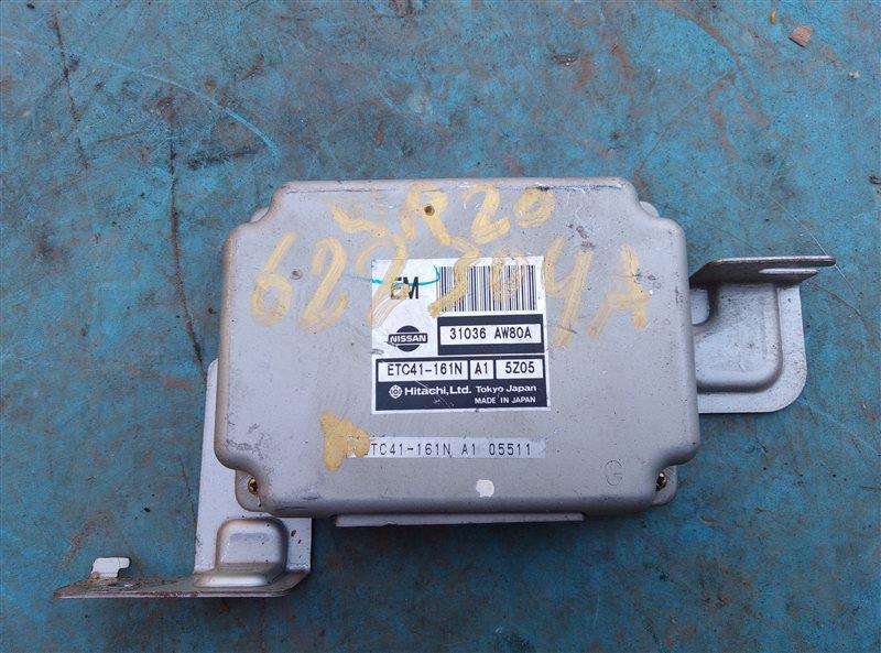 Блок переключения кпп Nissan Primera TP12 QR20DE (б/у)