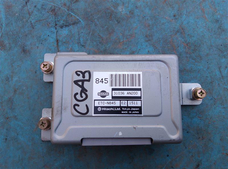 Блок переключения кпп Nissan Cube AZ10 CGA3DE (б/у)