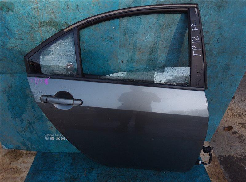 Дверь Nissan Primera TP12 задняя правая (б/у)