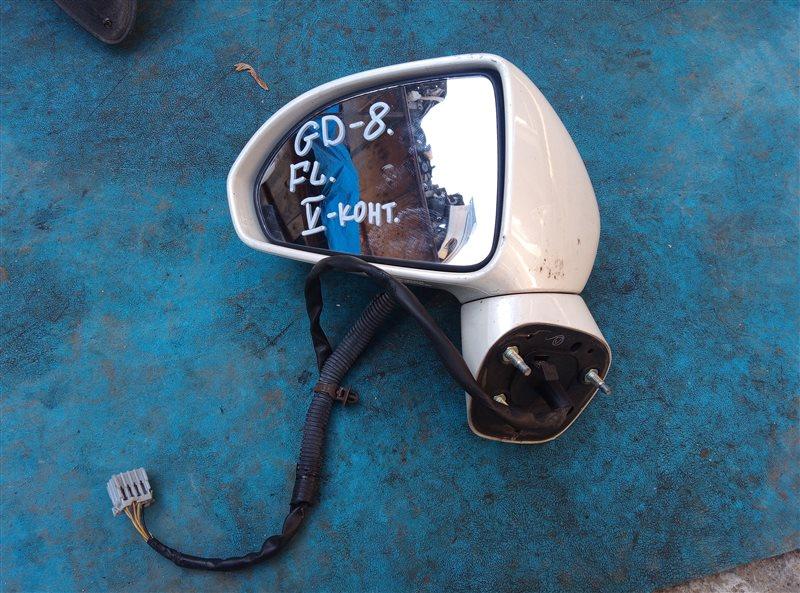 Зеркало Honda Fit Aria GD8 переднее левое (б/у)