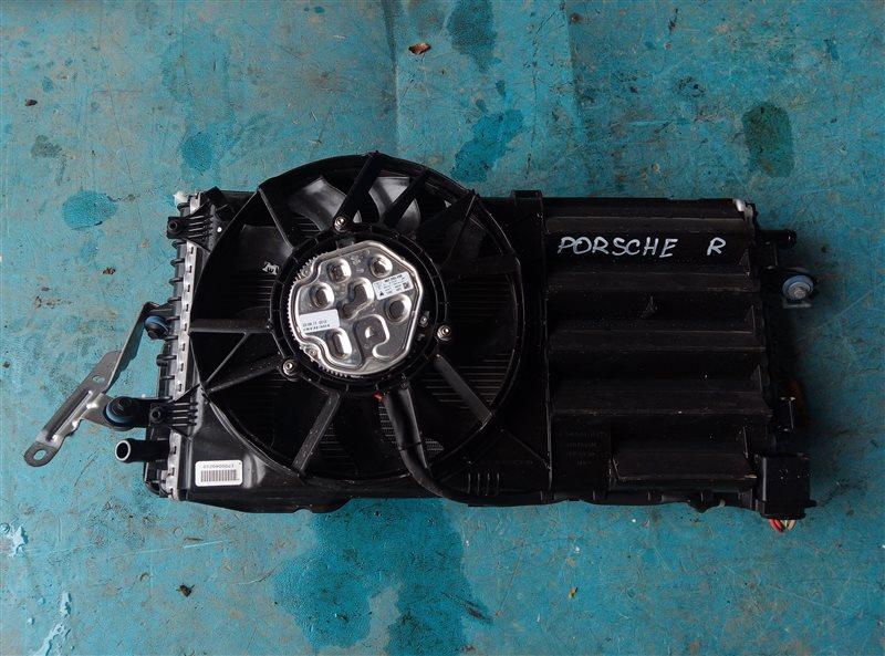 Радиатор охлаждения двс Porsche Cayman 982C DDNC 10.2017 задний правый (б/у)