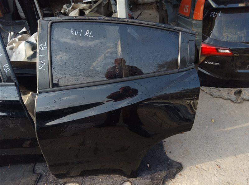 Дверь Honda Vezel RU1 L15B 2018 задняя левая (б/у)